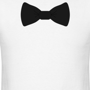 bow tie for the cool guy (2) - Men's T-Shirt