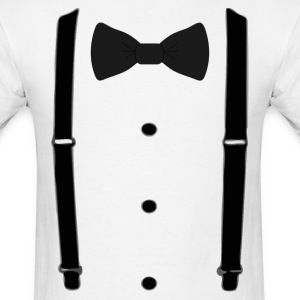 Bow tie for the cool guy (3) - Men's T-Shirt