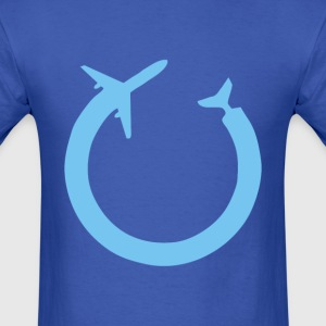 Gilfoyles Endless Flight - Men's T-Shirt