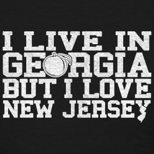 Georgia New Jersey Love T-Shirt Tee Top Shirt Women's T-Shirts - Women's T-Shirt