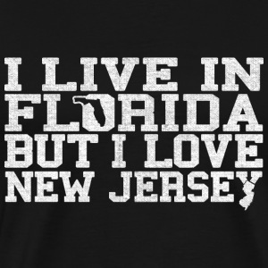 Florida New Jersey Love T-Shirt Tee Top Shirt T-Shirts - Men's Premium T-Shirt