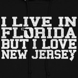 Florida New Jersey Love T-Shirt Tee Top Shirt Hoodies - Women's Hoodie