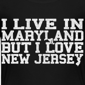 Maryland New Jersey Love T-Shirt Tee Top Shirt Baby & Toddler Shirts - Toddler Premium T-Shirt
