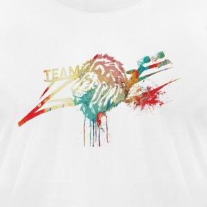 Paint Splash Logo - Men's T-Shirt by American Apparel