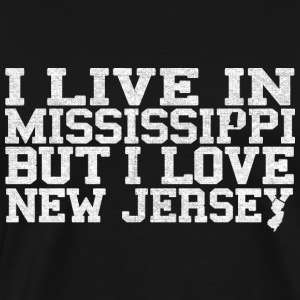 Mississippi New Jersey T-Shirt Tee Top Shirt T-Shirts - Men's Premium T-Shirt