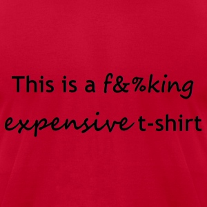 expensive T-Shirts - Men's T-Shirt by American Apparel