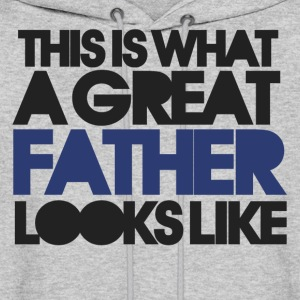 Great fathers day for dad - Men's Hoodie