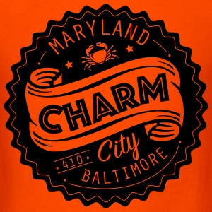 Charm City Baltimore Maryland - Men's T-Shirt