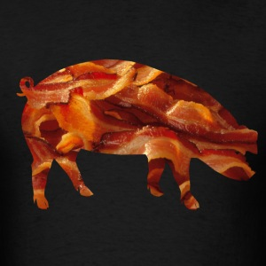 Bacon Lover's Pig Tee T-Shirts - Men's T-Shirt