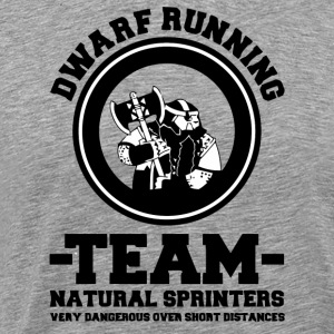 Dwarf Running Team T-Shirts - Men's Premium T-Shirt