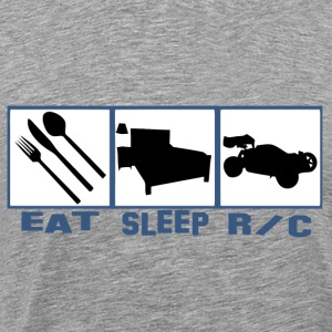 Eat sleep Rc car radio co T-Shirts - Men's Premium T-Shirt