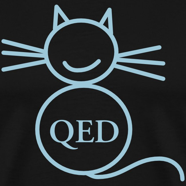 The QED cat