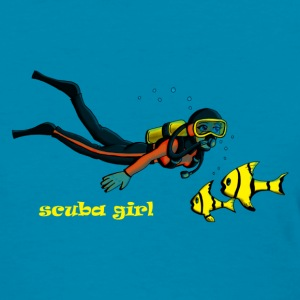 SCUBA girl - Women's T-Shirt