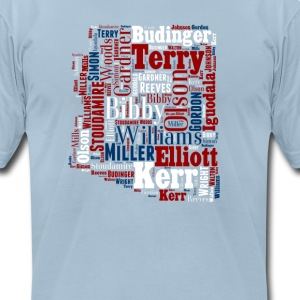 All Time Arizona Basketball Greats Men's T-Shirt - Men's T-Shirt by American Apparel