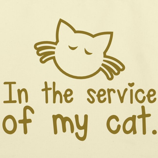 IN THE SERVICE OF MY CAT