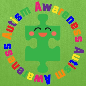 Autism Puzzle Piece Awareness Support Bags & backpacks - Tote Bag