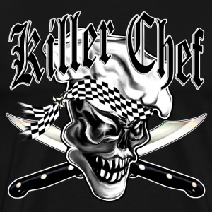 Chef Skull 5: Killer Chef - Men's Premium T-Shirt