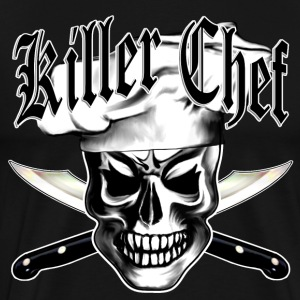 Chef Skull 3: Killer Chef - Men's Premium T-Shirt