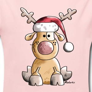 Funny Christmas Reindeer Baby & Toddler Shirts - Long Sleeve Baby Bodysuit