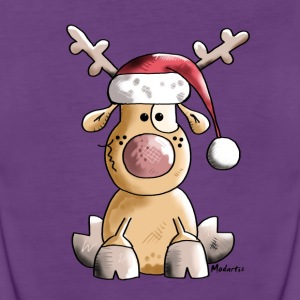 Funny Christmas Reindeer Tanks - Women's Premium Tank Top