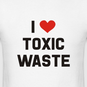 Real Genius – I Love Toxic Waste - Men's T-Shirt