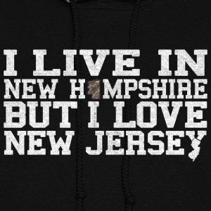 New Hampshire New Jersey Love T-Shirt Tee Top Shi Hoodies - Women's Hoodie