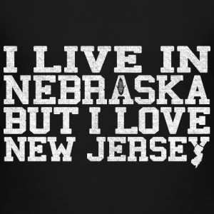 Nebraska New Jersey Love T-Shirt Tee Top Shirt Kids' Shirts - Kids' Premium T-Shirt