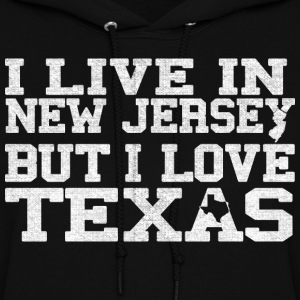 New Jersey Texas Love T-Shirt Tee Top Shirt Hoodies - Women's Hoodie