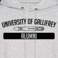 Design ~ University of Gallifrey Alumni Hoodie