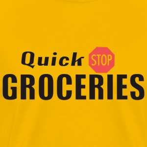 Clerks – Quick Stop Groceries - Men's Premium T-Shirt
