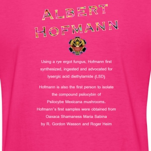 Dr. Albert Hofmann (The Origins of Religion) Women's T-Shirts - Women's T-Shirt