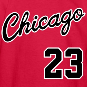 Chicago 23 Script Shirt Kids' Shirts - Kids' Long Sleeve T-Shirt