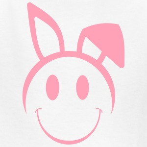 Easter Smiley Face Vector - Kids' T-Shirt