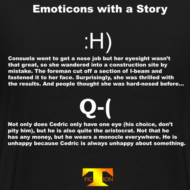 Emoticons with a Story #2 (dark)