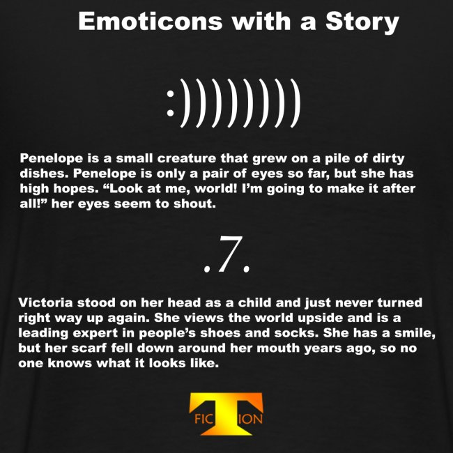 Emoticons with a Story #1 (dark)