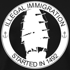 Illegal immigration - Men's Premium T-Shirt