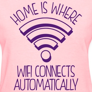 WIFI in home - Women's T-Shirt