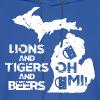 LIONS & TIGERS & BEERS, OH MI! - Men's Hoodie