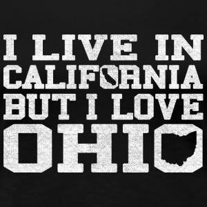 California Ohio Love T-Shirt Tee Top Shirt Women's T-Shirts - Women's Premium T-Shirt