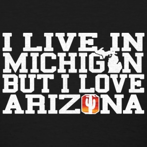 Michigan Arizona Love T-Shirt Tee Top Shirt Women's T-Shirts - Women's T-Shirt