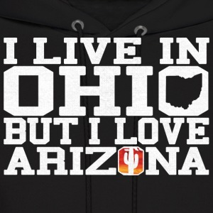 Ohio Arizona Love T-Shirt Tee Top Shirt Hoodies - Men's Hoodie