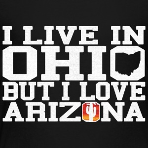 Ohio Arizona Love T-Shirt Tee Top Shirt Baby & Toddler Shirts - Toddler Premium T-Shirt
