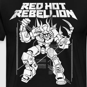 Red Hot Rebellion Hellabyte T-Shirt - Men's Premium T-Shirt
