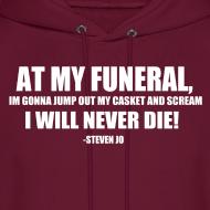 Design ~ I will never die