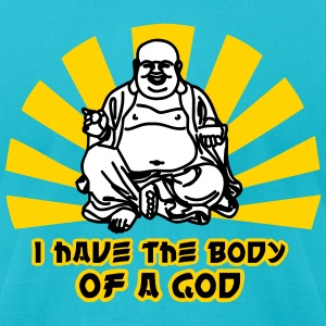 I have the Body of a God T-Shirts - Men's T-Shirt by American Apparel