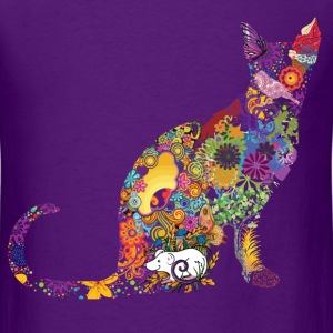 Colourful Cat - Men's T-Shirt