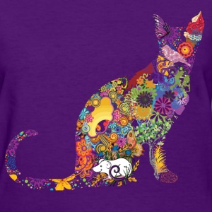 Colourful Cat - Women's T-Shirt