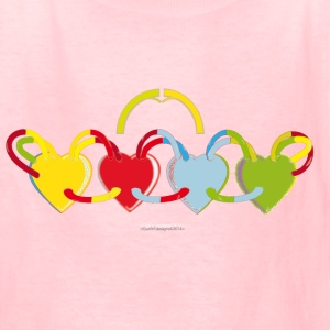 la Famille - by OurErf - Kids' T-Shirt