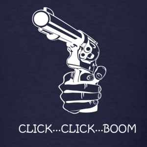 click...click...boom - Men's T-Shirt