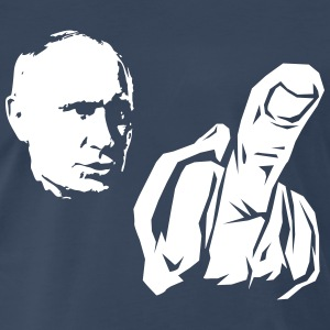 Vladimir Putin middle finger Shirt - Men's Premium T-Shirt